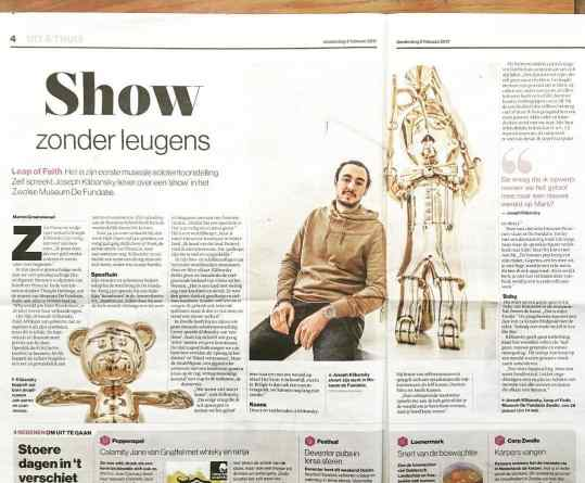 🙏🏻Another amazing article about my current museum show