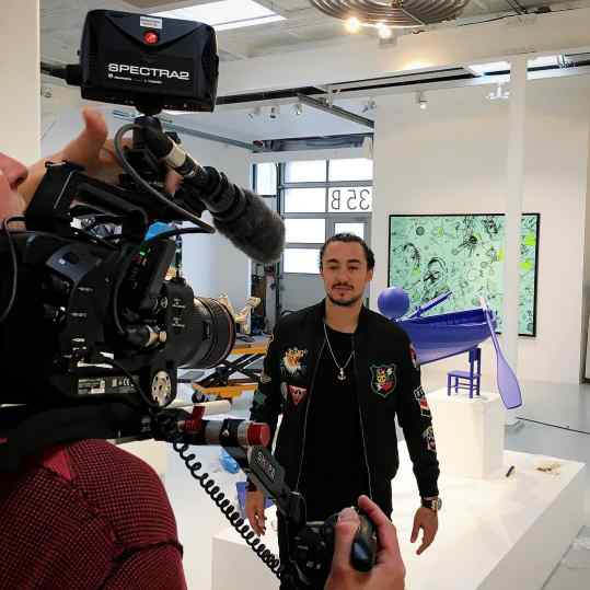 Tv Time 📺! #josephklibansky #contemporaryart #amsterdam