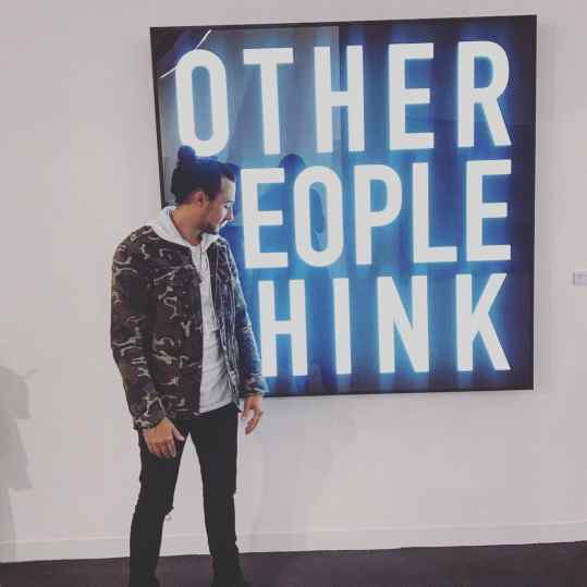 Other people think...we just do it❤️ @louisklibansky @susannaklibansky #josephklibansky #dreamteam #frieze #contemporaryart #artlover