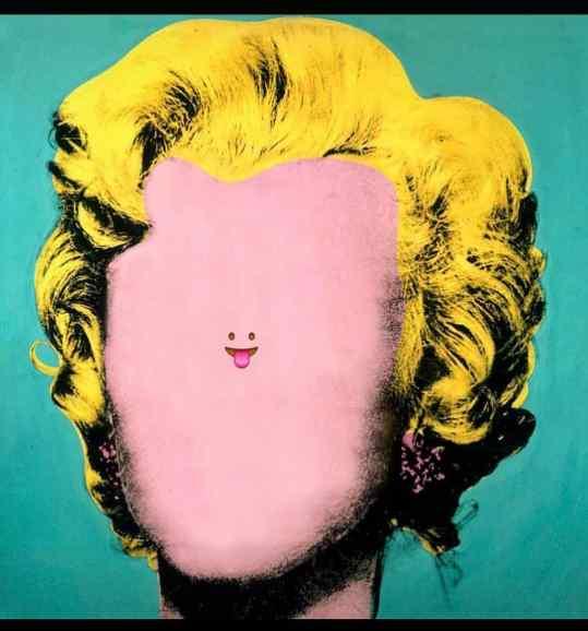 Smile more 😛 . . #andywarhol #contemporaryart #art