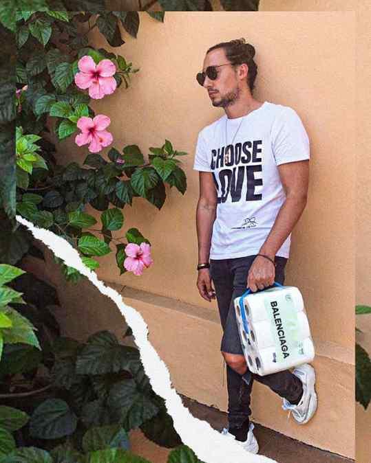 So blessed to be in the new @balenciaga campaign showcasing their new bag line🙏🏻 . #balenciaga #newbag
