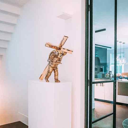 A sculpture is a poem without words . . #sculpture #art #kunst #josephklibansky