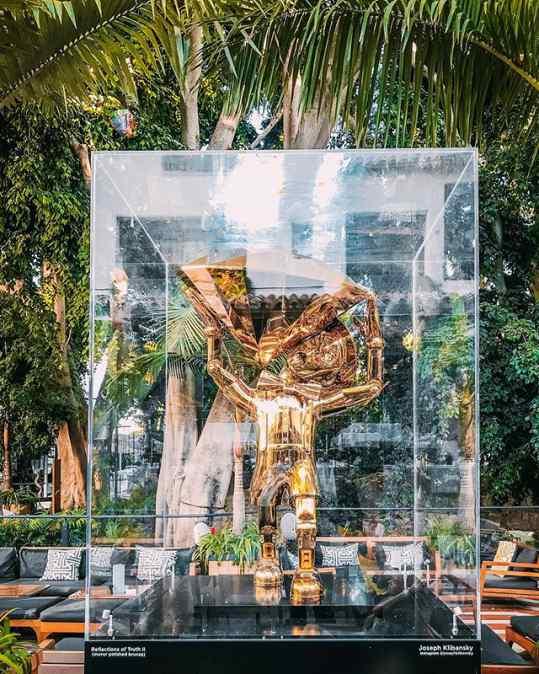 NOBU X KLIBANSKY . . @nobumarbella #marbella #art