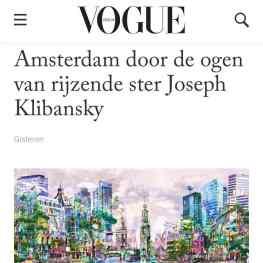 Thank you my friends at @voguemagazine for the great article!🙏🏻 #klibansky #josephklibansky #art #contemporaryart #fashion #collector #amsterdam #vogue