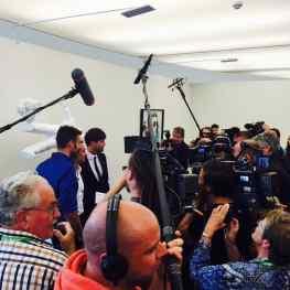 Another busy day of press at #museum #defundatie  #klibansky #josephklibansky #art #sculpture #artnews