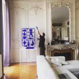 "The installation of ""Elements of Desire"" in the most spectacular apartment in France 😍. #josephklibansky #klibansky #art #sculpture #artnews #riobienal #nyc #paris  #love #chanel #starbucks #skull #baby"