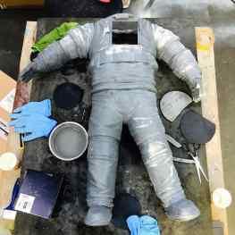 The #life of an #astronaut. #contemporaryart #sculpture #klibansky #josephklibansky #artnews #space