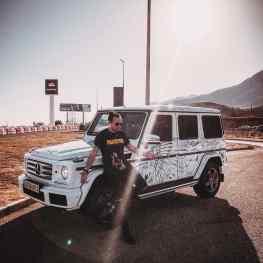 Klibansky G-wagon done 🔥 Who's car is next!?..#gwagon #artcar #marbella #art