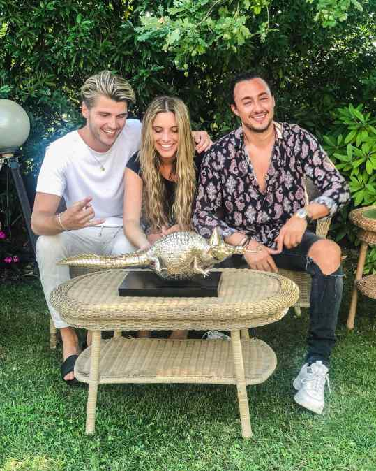 @lelepons is now the legal guardian of this baby crocodile 🐊  take care!