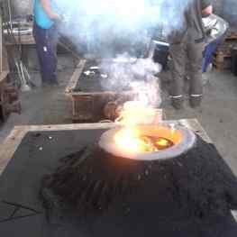 I'm making another BIG piece 🔥..#art #sculpture #bronzesculpture