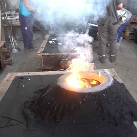 I'm making another BIG piece 🔥 . . #art #sculpture #bronzesculpture