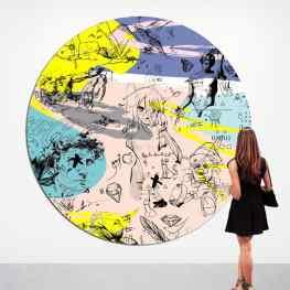 The new is here#oiloncanvas #experimental #josephklibansky #artbasel