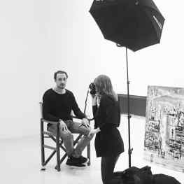 Shooting with the amazingly talented @robin_de_puy for @volkskrantmagazine #blackandwhite #photography #artphotography