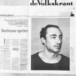 Thank you very much @de_volkskrant @robertvuijsje @robin_de_puy #volkskrant #volkskrantmagazine #josephklibansky #museumdefundatie