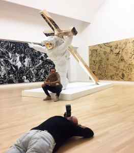 """You wont believe how blessed I feel that all the large media outlets in the Netherlands are covering my upcoming museum show """"Leap of Faith"""" @fundatiezwolle ! @telegraafinbeeld @ad_nl @de_stentor #contemporaryart #contemporary #art #josephklibansky"""