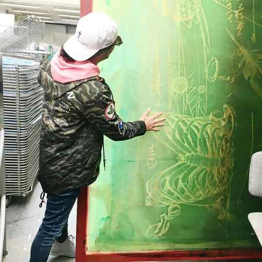 I Loveeeeeeee❤️ huge paintings! #josephklibansky #contemporaryart #love