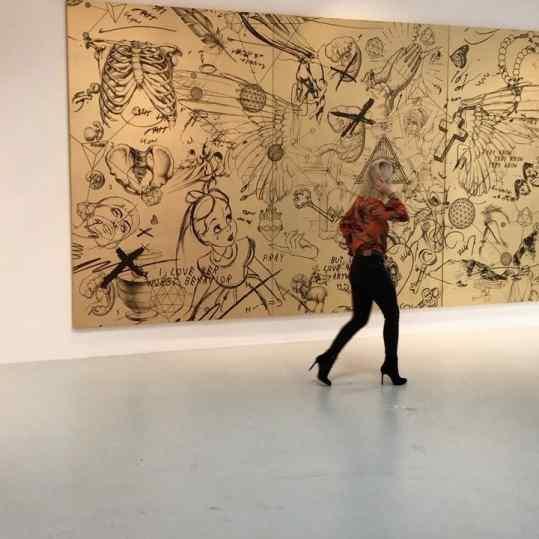 🔥My 7.2 meter long painting called