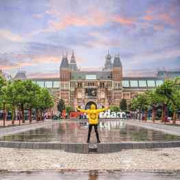 Finally finally I can announce the location for my monumental 12meter tall sculpture…✨🙌🏻 on the 26th of June it will be placed in the most amazing and prestigious location in Amsterdam.. it's going to be In the middle of the water in front of me..right in front of the world famous Rijksmuseum.. next to the Van Gogh and stedelijk museum..🙏🏻 an unbelievable honor 😇 who's coming to take a picture?? ❤️.#amsterdam #rijksmuseum #vangogh #stedelijkmuseum #contemporaryart #art #museum