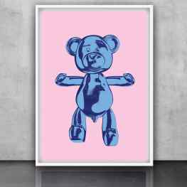"""Your favorite hand made 駱 Klibansky prints are now available online via my website!Go to the """"editions"""" page or check the link in my bioWhat is your favorite bear hug color?  ...#edition #screenprints #limitededition #art #josephklibansky #contemporaryart"""