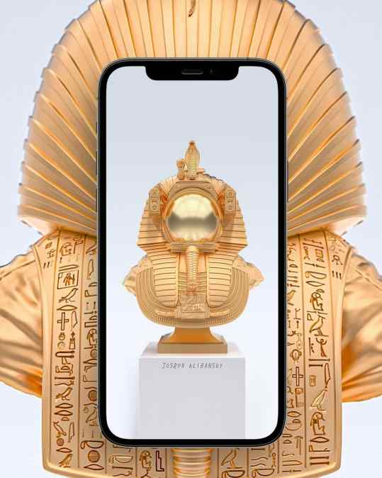 """Do you want a new phone background? 📱   We made a high resolution render of my new sculpture """"Valley of the Kings"""" 🖼  I can post it in my stories later today so you can screenshot it and set as a background ?🔥 . #background #backgroundart"""