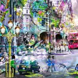 A small detail of my new #London #artwork ! More to come soon ;)