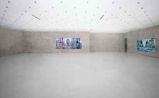 Peaceful studio sessions🦅#josephklibansky #contemporary #biennaledivenezia